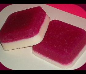 Soap - Pomegranate Sugar Scrub Goat Milk Soap