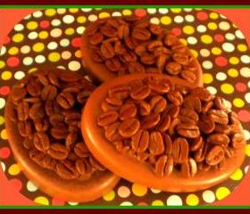 Soap - Vanilla Hazelnut Coffee Massage Bar - made with goat milk