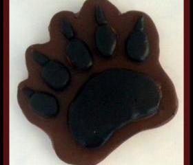 Soap - Bear Paw - You Choose Colors and Scent