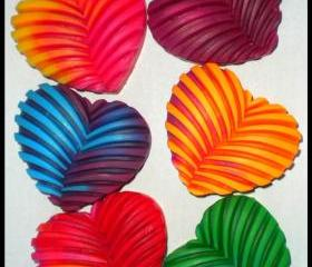 Soap - Tie Dye Heart Soap - Choose Your Colors and Scent