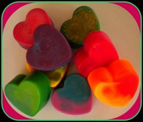 Soap Heart - The Big Lover - Tie Dye