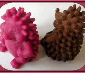 Soap - Hedgehog - Choose Color and Scent - made with Goat Milk