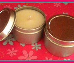 Soy Candle - French Vanilla scented - 2 oz