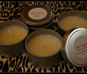 Candle - Soy Massage Candle - Warm Vanilla Sugar scented - 4 oz