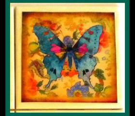 Coaster - Ceramic Tile - Butterfly