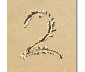 Beach Theme Wedding Reception Table Numbers