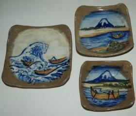 Mt. Fuji Serving Set