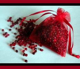 Cherry Almond Aroma Bead Sachet - Highly Scented Air Freshener
