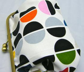 "6"" Fabby Purse - Semi Circles"