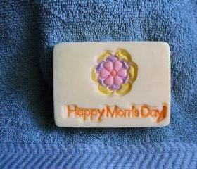 Happy Mom's Day Soap 