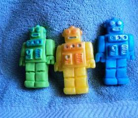 Bright Robot Soap Set