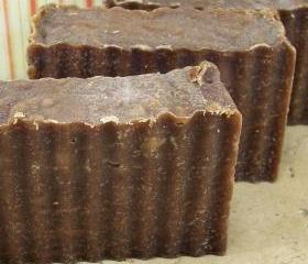 Vanilla Hazelnut scented Goat's Milk with Shea butter Soap