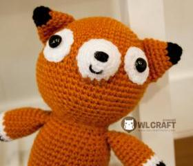 PDF Pattern Philly The Fox Amigurumi Plush Crochet Doll