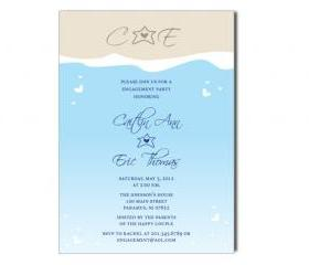 DIGITAL FILE ONLY – Ocean Beach Digital Invitation