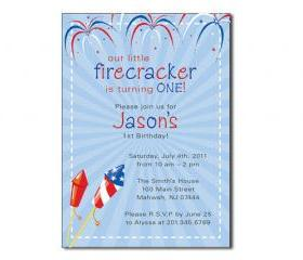 DIY – Lil' Firecracker Digital Invitation