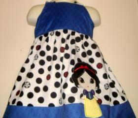 Snow White 'Cutie' Applique Dress