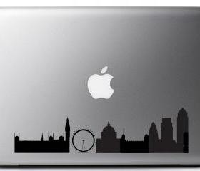 London Skyline laptop vinyl decal UK seller