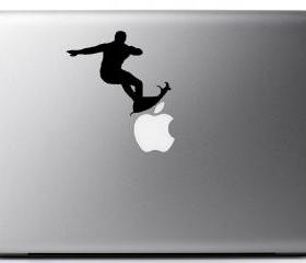 Vinyl Laptop Decal - Kelly Slater surfing