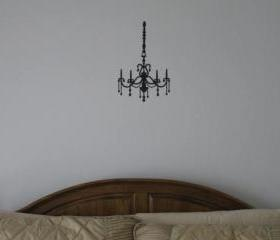 Beautiful Chandelier Vinyl Wall Decal