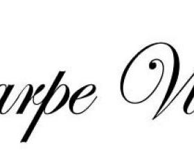 Carpe Vino vinyl decal - UK seller