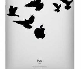 Ipad decal - Birds - UK WAB Team