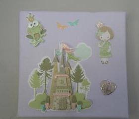 Princess 3D Canvas