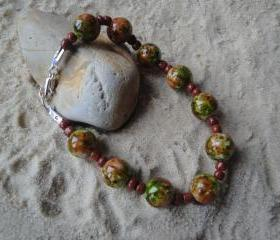 Brown-Green Bracelet