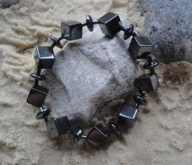 Hematite Stretch Bracelet