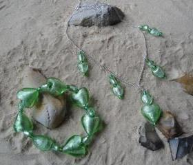 Green Heart Large Set