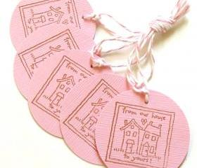 Our House To Yours Tags - Set of 5