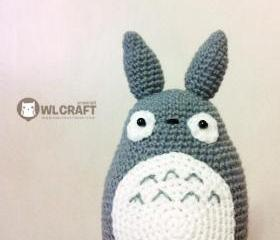 PDF Pattern My Neighbor Totoro Amigurumi Character Doll
