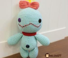 PDF Pattern Scrump Doll Lilo & Stitch
