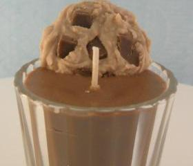 Chocolate Milk and Cookies Candle Soy Wax Votive