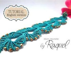 Micro Macrame Shells Tutorial - ENGLISH VERSION