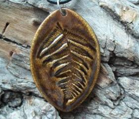 Large Fern Necklace
