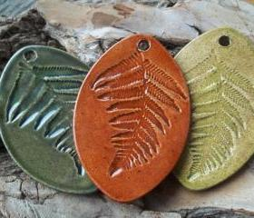 Large Fern pendant