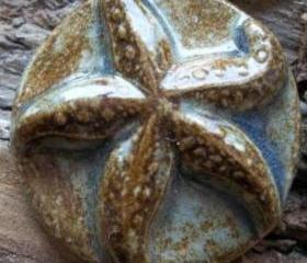 Starfish seashell cabochon