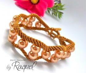 Curvy And Wavy Bracelet Tutorial
