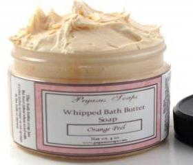 Sage & Citrus Whipped Bath Butter Soap 4 oz