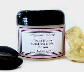 Cocoa Butter Hand and Body Cream 2 oz You Pick Your Scent