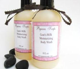 Goats Milk Moisturizing Body Wash You Select Your Scent