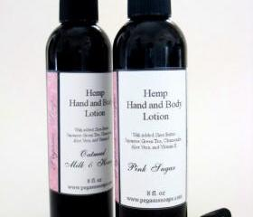 Hemp Hand and Body Lotion 8 oz