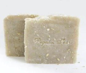 CLEARANCE Oatmeal Milk and Honey Hot Process Soap