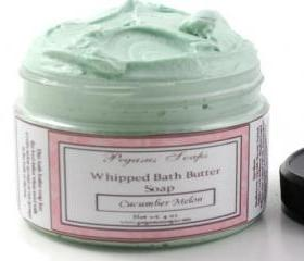 Ginger Lime Whipped Bath Butter Soap 4 oz