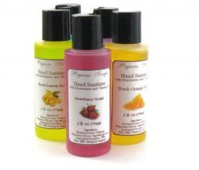 3 Scented Moisturizing Hand Sanitizer with Vitamin E 2 oz You Choose Your Scents