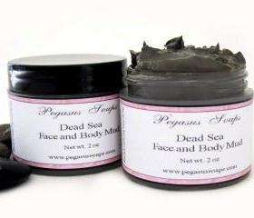Dead Sea Face and Body Mud Mask 2 oz jar