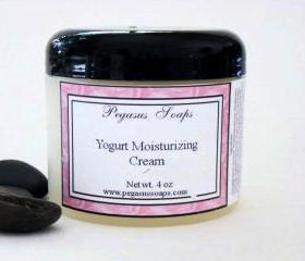 Yogurt Moisturizing Cream 4 oz You Pick Your Scent