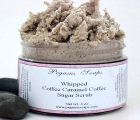 Whipped Coffee Caramel Cream Sugar Scrub