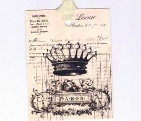 Tags French Crown Paris tags