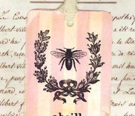 Tags Vintage French Bee by Bluebird Lane